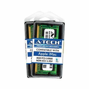 16GB 2x 8GB PC3-14900 1866 Apple iMac Late 2012 2015 A1419 MD095LL/A Memory RAM