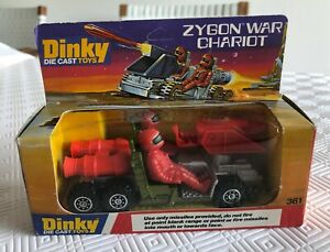 Vintage Dinky Zygon War Chariot #361 - boxed - in great condition