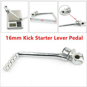 16mm Motorcycle Kick Starter Lever Pedal Universal For Kawasaki Suzuki Dirt Bike