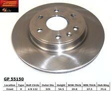 Best Brake GP55150 Front Disc Brake Rotor