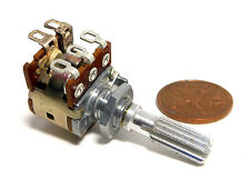 NOBLE ALPS 250K Ohm B Linear Pot with On-Off Switch Potentiometer NOS Vol Audio