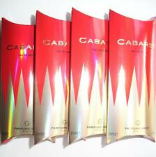 CABARET PARFUMS GRES 4 x 2ml EDP SAMPLE VIALS NEW BOXED