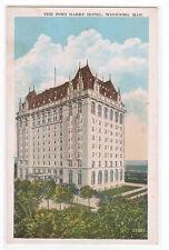 Fort Gary Hotel Winnipeg Manitoba Canada 1920s postcard