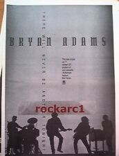 BRYAN ADAMS  Never Be Another Tonight 1991 UK Poster size Press ADVERT 16x12""