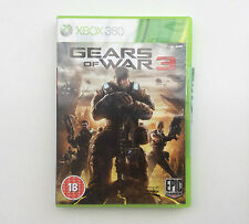 Gears of War 3 MICROSOFT XBOX 360 (PAL) excellent état-libre p&p