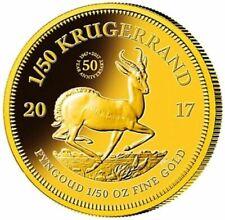 Krügerrand 2017 South Africa 50th Anniversary - Jubilee 1/50 oz .917er Gold PP
