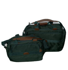 Samsonite VINTAGE Carry On Bags Shoulder Luggage Canvas Green Duffle Soft Case