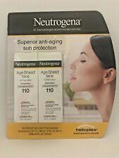 Neutrogena Age Shield Face Lotion Sunscreen SPF 110 3 Ounce