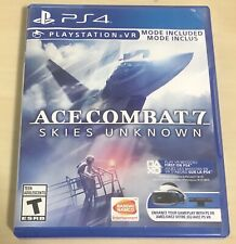 Ace Combat 7 Skies Unknown PS4 (Sony Playstation 4, 2019) Video Game