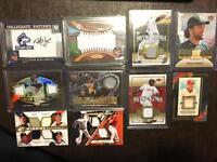HOT LOT of 30 baseball cards 4 GUARANTEED HITS auto #ed relic star RC Bonus