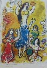 MARC CHAGALL EXODUS Salomé SIGNED HAND NUMBERED 1474/1800 LITHOGRAPH Salome