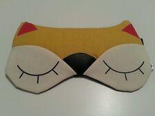 Fox Eye Mask Novelty Shade Travel Sleeping Gel Filled Accessories Animal Gift