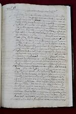 1585 Sicily Italy - Secret account to Spain Viceroy - Important Manuscript