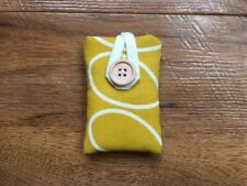 iPOD NANO 7/8th GEN PADDED CASE HANDMADE ORLA KIELY DANDELION LINEAR STEM FABRIC