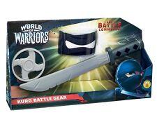 World of Warriors Battle Gear Kuro Fancy Dress Up Ninja Sword Weapon Set Kids