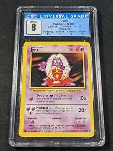 Pokemon TCG - CGC 8 - Jynx - 4th Print Base Set 31/102