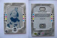 2005-06 UD The CUP 106 Sidney Crosby 1/1 cyan plate RC UD Ice 1 of 1 Rookie GISI