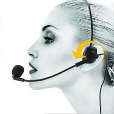 Professional Dynamic Wired Head-mounted Headset Microphone Flexible Mic 3.5mm