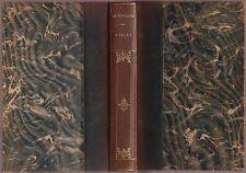 J. de La Fontaine: fables (pour 1870) hldr. handeinband