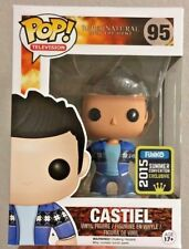 Funko Pop 2015 SDCC Supernatural Vacation French Mistake Castiel Vinyl Figure