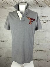 Men's Fitch Tee Grey White Good Quality Piece Med (1599)