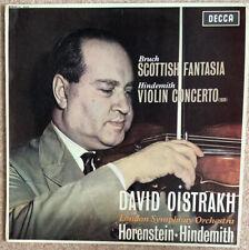 Decca SXL 6035 Oistrakh Bruch Scottish Fantasia Hindemith VC