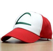 Anime Baseball Cap Pocket Monster Cosplay Pokemon Hats Costumes Ash Ketchum Gift