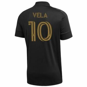LAFC Los Angeles FC MLS Jersey Shirt Mens Soccer Football Custom Carlos Vela New
