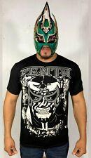Talivision A199 Penta 0 Miedo-Penta 0M AEW-AAA-CMLL Ninja Zebra Black Tshirt