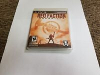 Red Faction: Guerrilla  (Sony Playstation 3, 2009) ps3 new