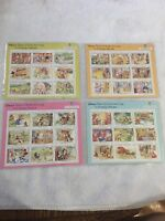 Set of 9 Tales Of Uncle Scrooge Collectors Society Stamp Set Disney