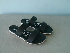 Rocket Dog Spree Black Lightweight Sandals Slides - size 5.5 (EU 38.5)