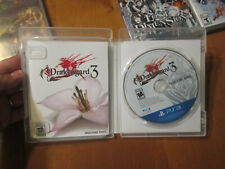 Drakengard 3 PS3 Sony COMPLETE WORKS PERFECTLY US
