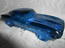 Blue Vaseline glass 1963 split window Corvette chevrolet uranium car cobalt glow