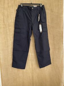 Men's 5.11 Tactical Dark Navy Cargo Pants Size 38 30    New Military Government