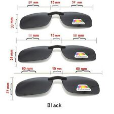 Size M Unisex Sunglasses Clip On fit for Driving Glasses UV 400 Sun Protective