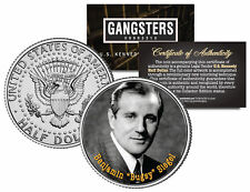 BENJAMIN BUGSY SIEGEL Jewish Gangster JFK Kennedy Half Dollar US Colorized Coin