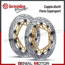 Paire Disques Frein Brembo SuperSport Pour Aprilia RSV 1000 Ø320 1998 > 2008