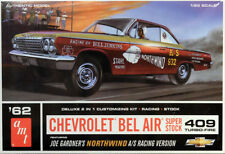 1962 Chevrolet Bel Air SS 409 Turbo Fire 1:25 AMT Model Kit Kit amt865 Chevy