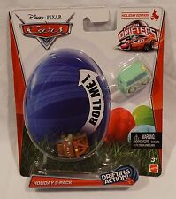 Disney Pixar Cars Micro Drifters Holiday 2-Pack Fillmore & Mater 2012 NEW Easter