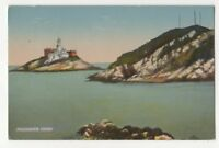 Mumbles Head South Wales Vintage Postcard Lighthouse 880b
