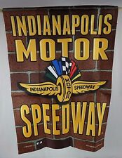 Indianapolis Motor Speedway Collector Garden Flag Indy 500 Brickyard 400 New
