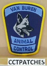 VAN BUREN, MICHIGAN ANIMAL CONTROL (POLICE) SHOULDER PATCH MI