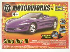 Rare Motorworks Revell Factory Sealed Sting Ray III 1:25 Model Kit #85-1253