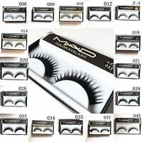 10 Pairs Makeup Long Soft Cross Natural Thick False Fake Eyelashes Eye Lash 004t
