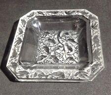LALIQUE Crystal Anna Small Dish / Ash Tray