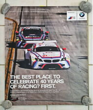 BMW 40 years of racing victory poster Long Beach #25 BMW Team RLL Z4