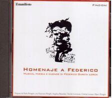 Paolo Ricagno, F. Biraghi: Homenaje a Federico Garcia Lorca Musica e Poesia - CD