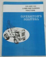 Ford 100 & 120 Lawn & Garden Tractor Operator's Owners Manual LGT100 LGT120 LGT