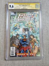 Justice League of America #0 (2006) CGC SS 9.6 signed by J. Scott Campbell